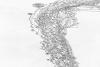 2014 snow drawing on Lake Catamount