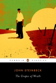 Book Jacket for The Grapes of Wrath