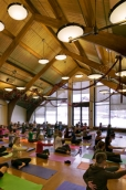Yoga in Library Hall