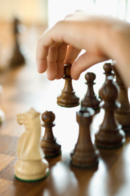 Chess at the Library