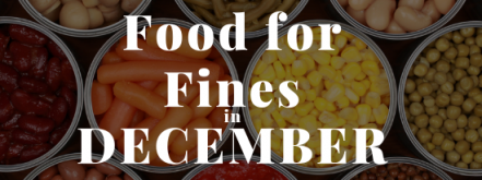 December is Food For Fines