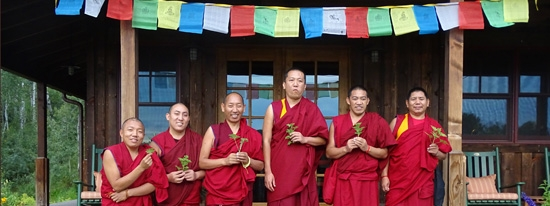 The Drepung Loseling monks on the loose in Steamboat Springs