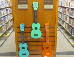 Ukuleles at Bud Werner